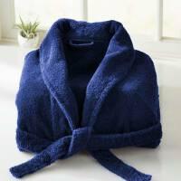 1505c4c3d82802 Szlafrok frotte bawełniany M niebieski Sheridan uniwersalny
