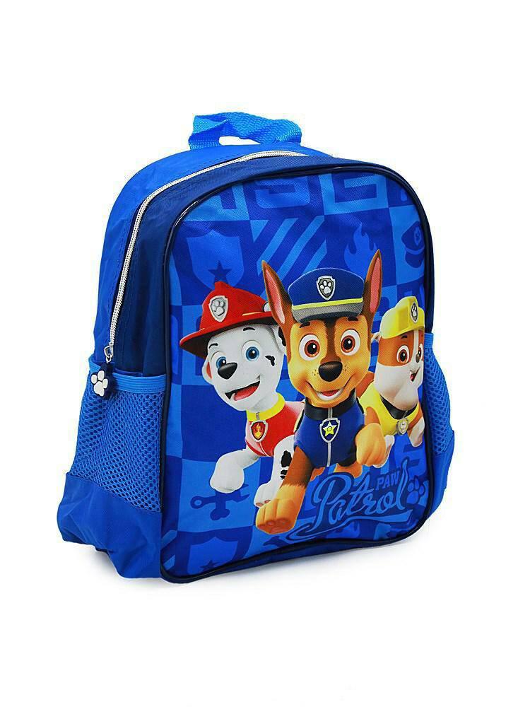 Plecak Do Przedszkola Psi Patrol Paw 7741 Pieski Niebieski Marshall Chase Rubble Turystyczny 27x30x11